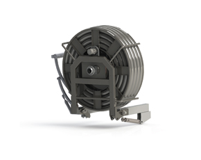 Suction hose reels